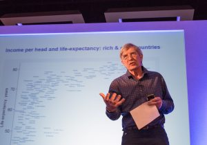 Richard Wilkinson speaks at the International Symposium on Homeless and Inclusion Health
