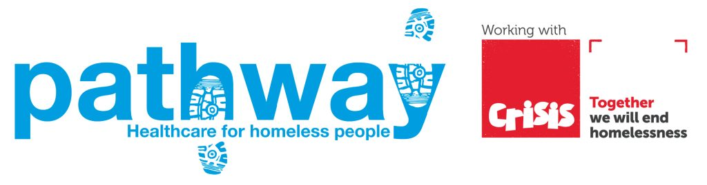 Pathway with Crisis logo